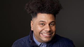 Comedian Orlando Leyba
