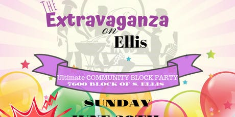 Extravaganza on Ellis the Ultimate Block Party tickets
