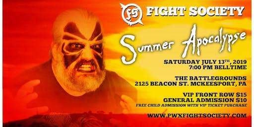 Fight Society - Summer Apocalypse