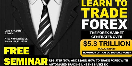 Free Forex Seminar (Limited Seating)