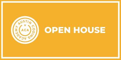 Austin Coding Academy   Open House   @ Capital Factory   7.24.19