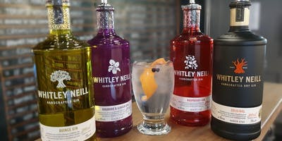 Gin Tasting with Whitley Neill Cambridge