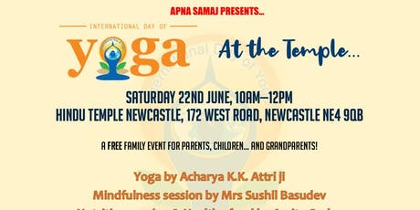 International Yoga Day at The Temple tickets