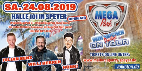 Megapark on Tour OPEN AIR - Speyer Tickets