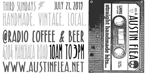 The Austin Flea at Radio Coffee & Beer - in July