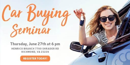 Car Buying Seminar presented by Connects Federal Credit Union