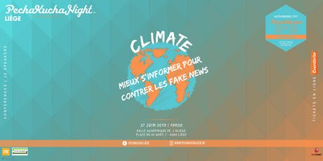 PechaKucha Night - Climate tickets