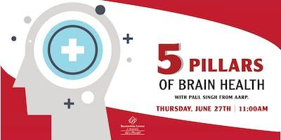 5 Pillars of Brain Health