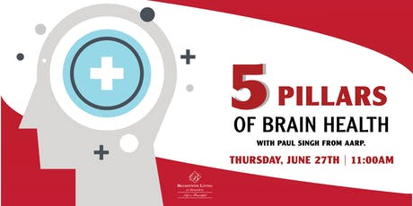 5 Pillars of Brain Health tickets