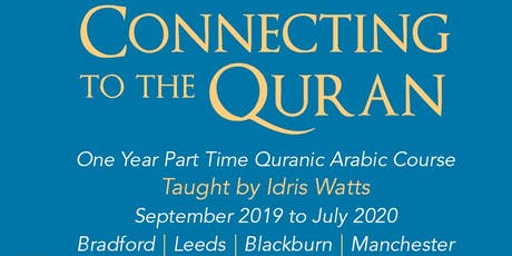 Connecting to the Quran Open Day Blackburn tickets