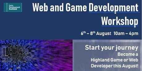 Web and Game Development Workshop tickets
