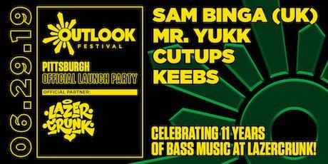 Lazercrunk Outlook Launch Party w/ Sam Binga (UK) + Mr. Yukk tickets