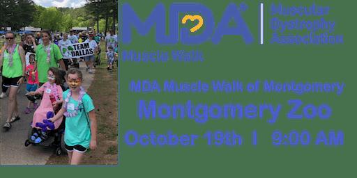 MDA Muscle Walk of Montgomery