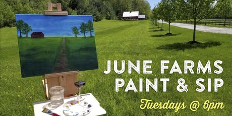 June Farms Paint & Sip! tickets