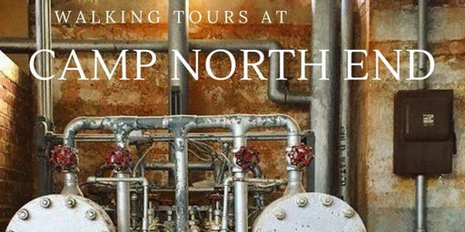 Aug 9: Walking Tour at Camp North End