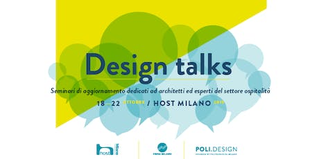 7 DESIGN TALKS HOST 2019 biglietti