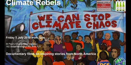 Climate Rebels: inspiring stories from North America tickets