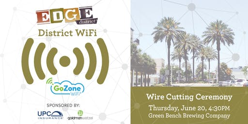 EDGE District WiFi Wire Cutting Ceremony