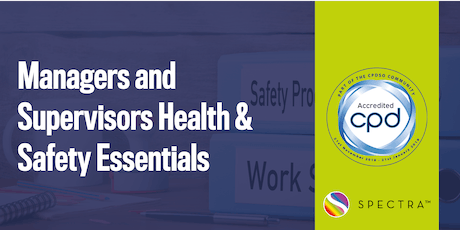 Managers and Supervisors Health & Safety Essentials tickets
