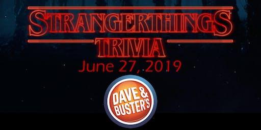 D&B Albuquerque Thursday Night Trivia - Stranger Things