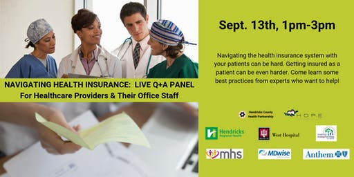 Navigating Health Insurance:  LIVE Q+A PANEL