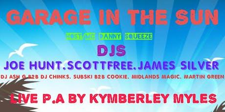 'Garage In the sun' tickets