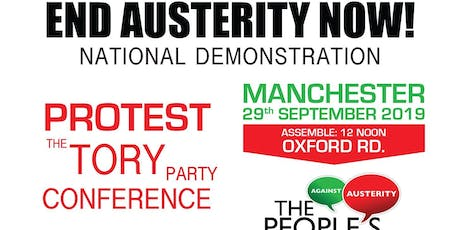 End Austerity Now! North East protests Tory conference 2019 tickets