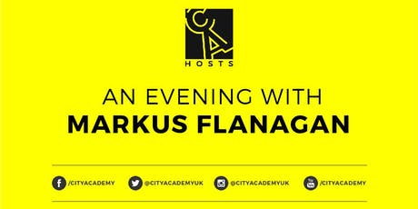 CA Hosts: An Evening with Markus Flanagan. tickets