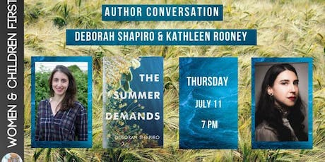Author Conversation: Deborah Shapiro & Kathleen Rooney tickets
