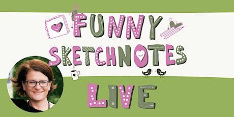 #FunnySketchnotesLive in Düsseldorf Tickets