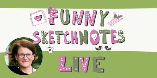 #FunnySketchnotesLive in Köln
