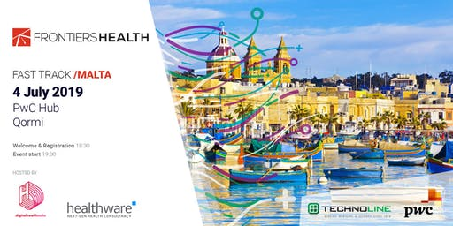 Frontiers Health Fast Track Malta hosted by Digital Health Malta