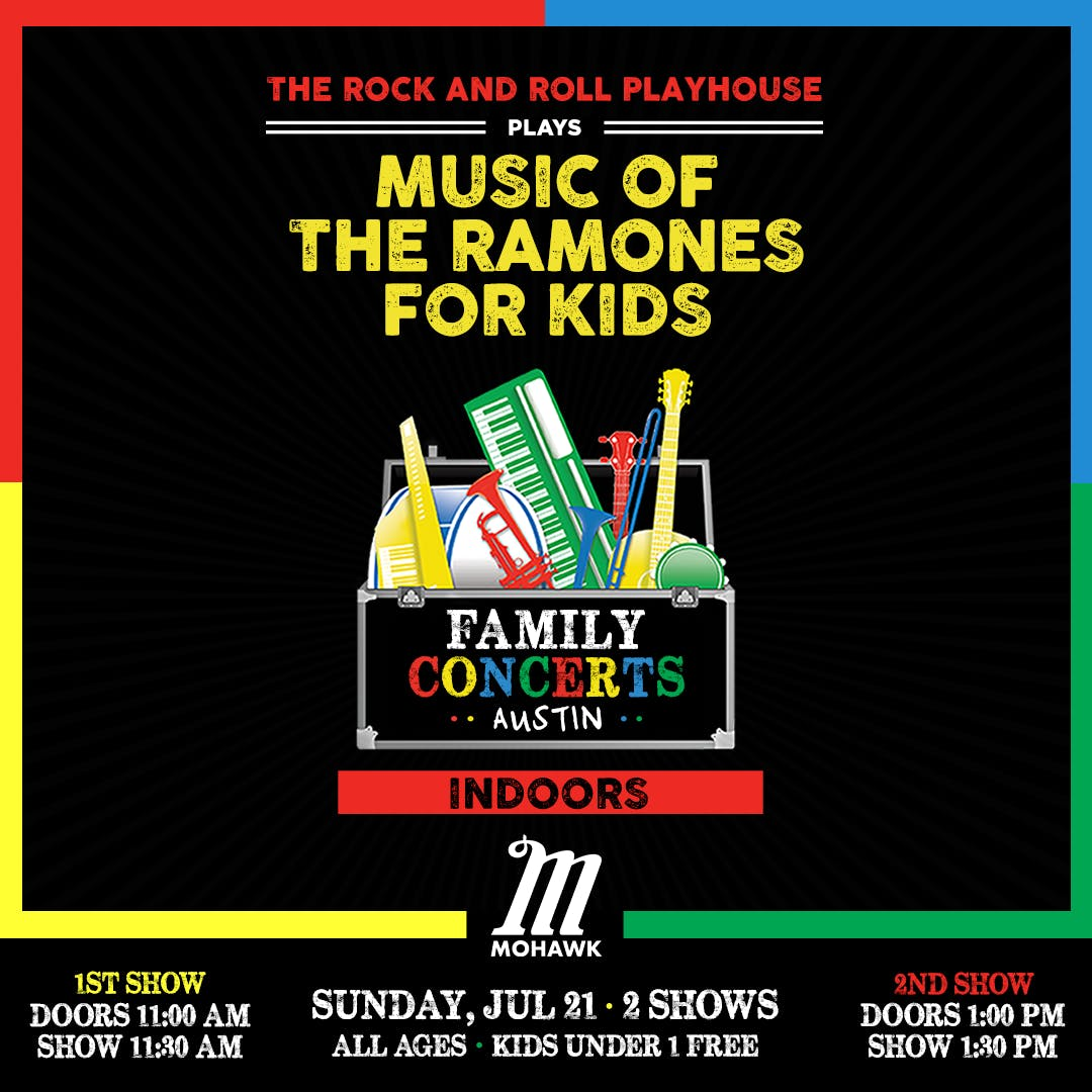 Music of The Ramones for Kids (LATE SHOW)