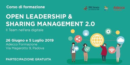 Open leadership & Sharing Management 2.0