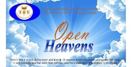 Open Heavens 2019 tickets