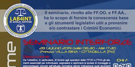 Cittadella - Economic Crime biglietti