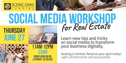 Social Media Workshop for Real Estate (Lathrop)