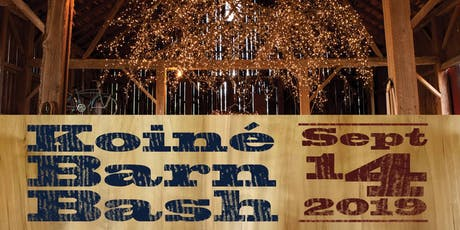 Koiné Barn Bash - Fundraiser tickets