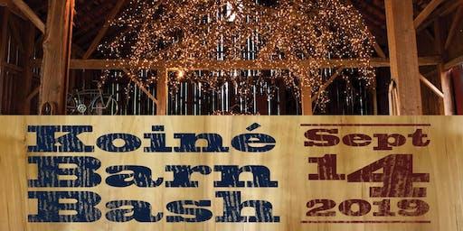 Koiné Barn Bash - Fundraiser