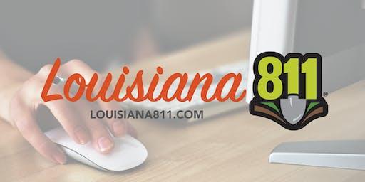 Louisiana 811 Free Software Demonstration - July 2, 2019