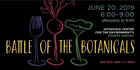 Battle of the Botanicals 2019 tickets
