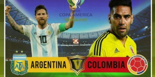 Live Streaming Argentina VS Colombia!