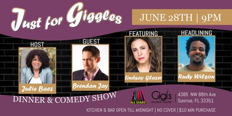 Just for Giggles Dinner & Comedy Show tickets