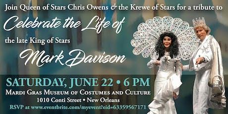 Celebration of Mark Davison  tickets