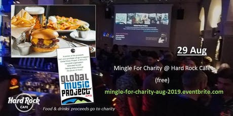 Mingle For Charity @ Hard Rock Cafe tickets