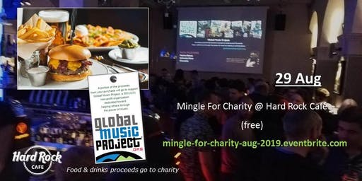 Mingle For Charity @ Hard Rock Cafe