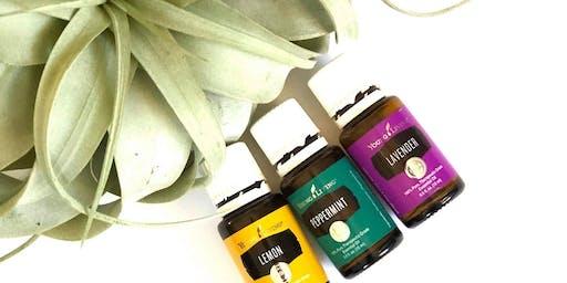 DIY Terrarium Class w/ Essential Oils