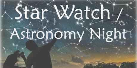 Star Watch / Astronomy Night tickets