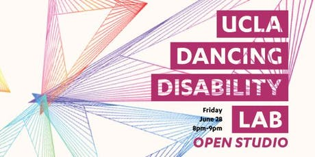 UCLA Dancing Disability Lab, Open Studio tickets
