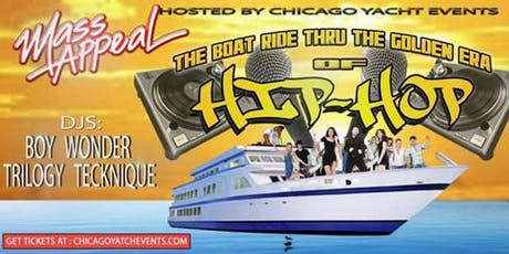 Mass Appeal Booze Cruise tickets